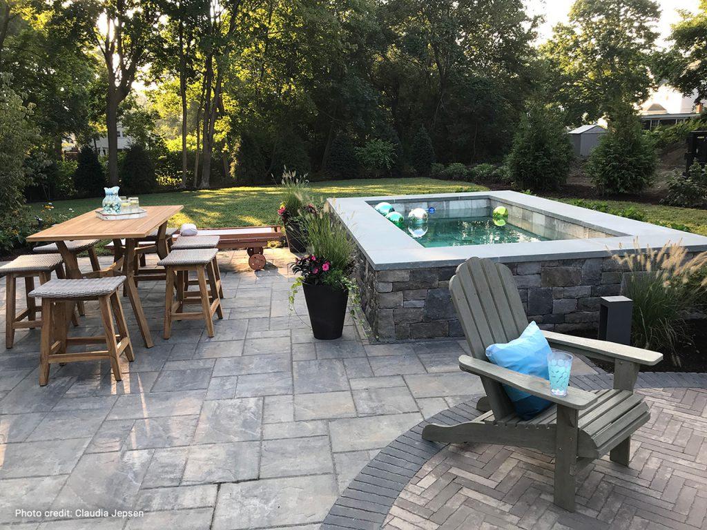 Photo of Soake Pool installed