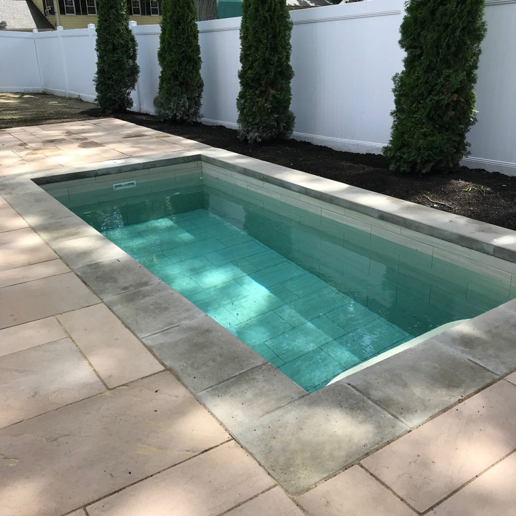 Photo of plunge pool installed by Soake Pools