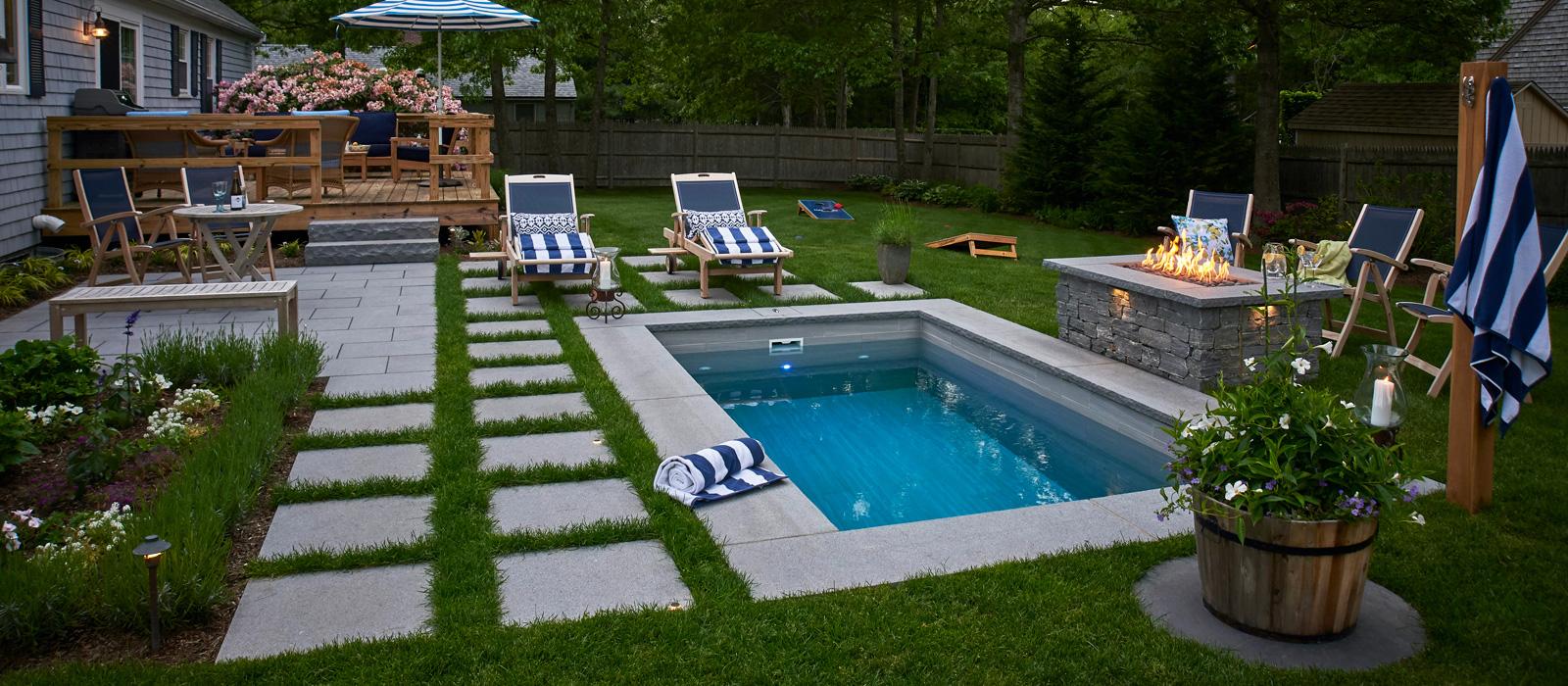 Soake Pools - Photo of plunge pool installed