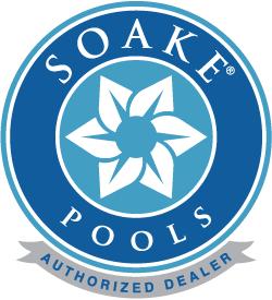 Soake Pools Authorized Dealer Badge